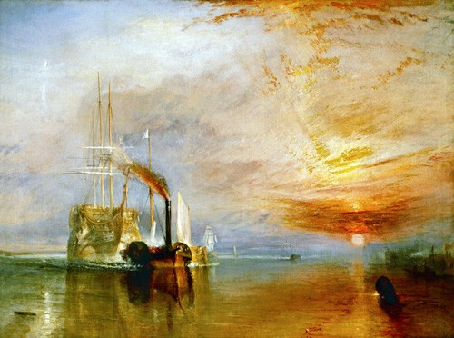 "cuadros de marinas - Cuadro ""The Fighting Temeraire"" - Turner, Joseph M. William"