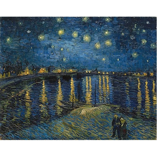 Comprar  - Cuadro The starry night online - Van Gogh, Vincent