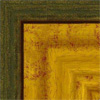 Oro + verde exterior.  (62x32 mm) A-72196620