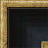 Negro + bordes oro (77x33 mm) A-88077109